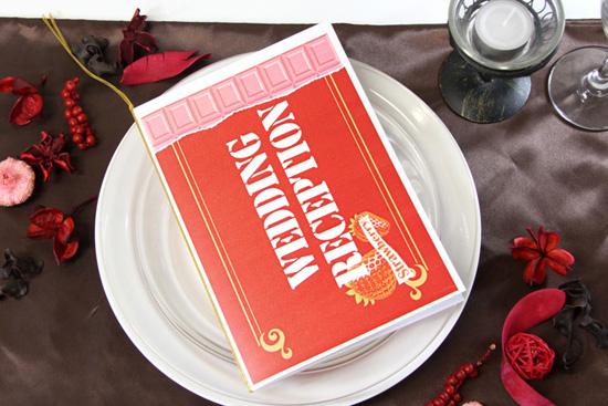 ラピスラズリではバレンタインシーズン結婚式の方にぴったりな手作り席次表キットを取り揃えております♪