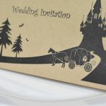 手作り【招待状キット】かぼちゃの馬車・クラフト