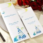 結婚式 席次表 オリジナル クリスマスデザイン