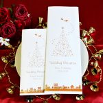 クリスマス サンタクロース 結婚式 席次表