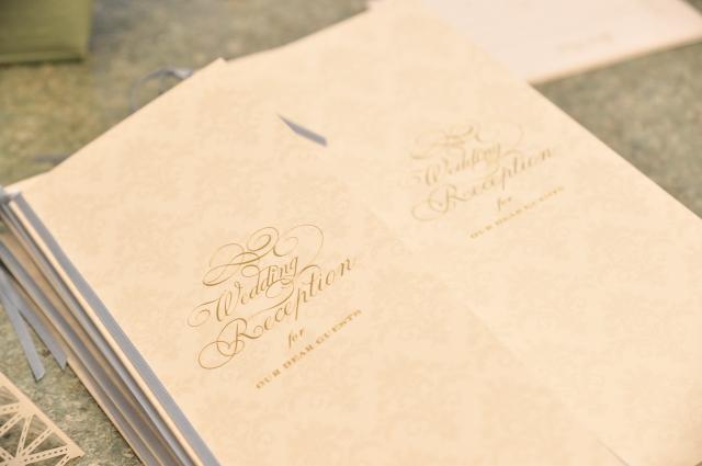 結婚式までの流れ 席次表の作成
