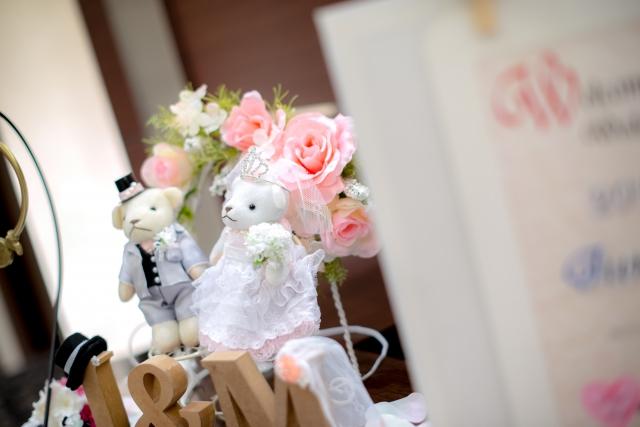 結婚式までの流れ ウェルカムスペース 会場装飾