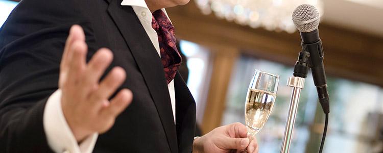 結婚式 乾杯の挨拶/スピーチ