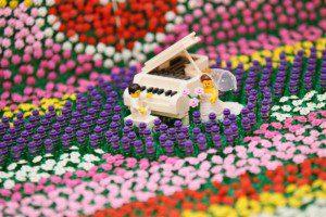 レゴ お花畑 ウェルカムボード 結婚式