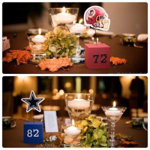 テーブルカード 結婚式 背番号 スポーツウェディング