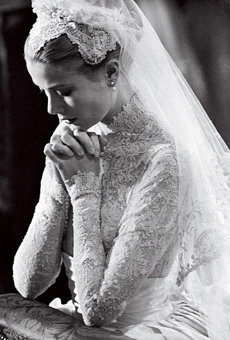 海外 グレース・ケリー ウェディングドレス