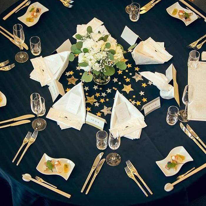 星をテーマにした結婚式