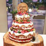 おしゃれ花嫁さん必見!ネイキッドケーキ