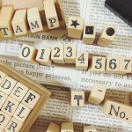 【DIY】アルファベットスタンプで席札やサンキュータグを手作り